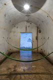 Resting room Cannon Fort in Cat Ba island Royalty Free Stock Image