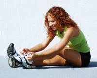 Resting Runner Stock Image