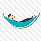 Resting and sleep design Royalty Free Stock Photos