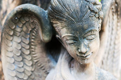 An Resting Statue in soft light royalty free stock photo
