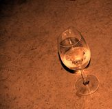 Resting Wine Glass Royalty Free Stock Photo