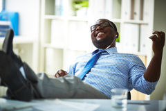 Resting during work Royalty Free Stock Images