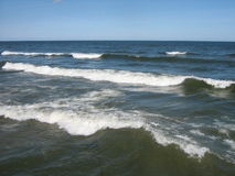 Restless Baltic Sea royalty free stock images