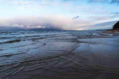 Restless Baltic sea. Stock Images
