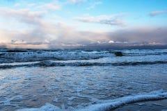 Restless Baltic sea. Stock Image
