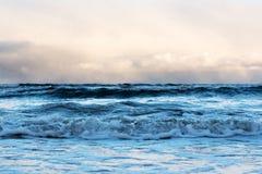 Restless Baltic sea. Stock Photos