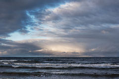 Restless Baltic sea. Royalty Free Stock Photography