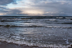 Restless Baltic sea. Stock Image