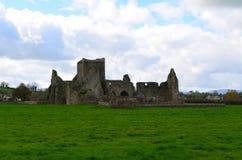 Restliche Wände von Hore-Abtei Stockbild
