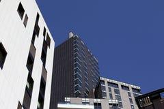 Restlicht auf Mailand-Skylinen Stockfoto