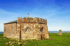 Restna av den Cockersand abbotskloster i Lancashire Royaltyfri Fotografi