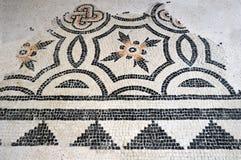 Restna av forntida mosaiker grundar i Lombardy under flera Royaltyfria Foton
