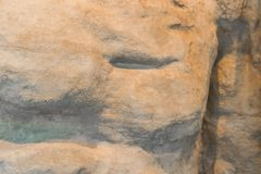 Resto cinzelado da pedra - foco seletivo - para o fundo ou o elemento fotografia de stock royalty free