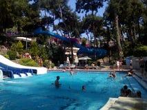 Resto de Aquapark Foto de Stock Royalty Free