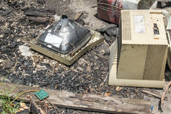 Resto del fuego Fotografía de archivo