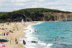 Resto della spiaggia Fotografia Stock Libera da Diritti