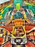 Resto di arte della parete nella pace Immagini Stock