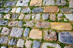 Resto do pavimento antigo foto de stock