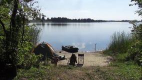 Resto en el lago Bogdanovsky