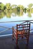 Resto en el río Fotografía de archivo libre de regalías