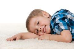 Resto en la alfombra Fotografía de archivo libre de regalías