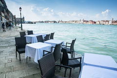 Resto en Venecia fotografía de archivo libre de regalías