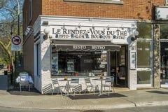 Resto lounge shop Stock Photo