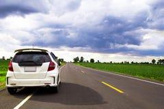 Resto na borda da estrada Imagem de Stock