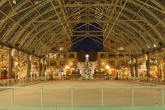 Reston Virginia Beneath Dome e céu imagens de stock royalty free