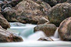 Restonica dolina - Corsica obrazy stock