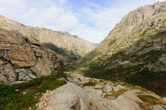 Restonica Gorge Stock Image