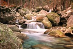 Restonica-Tal, Korsika Lizenzfreie Stockfotos
