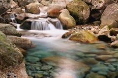 Restonica-Tal, Korsika Stockfotos