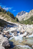 Restonica valley in Corsica Royalty Free Stock Photos