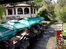 restoran Macedonia palanka zdjęcia royalty free