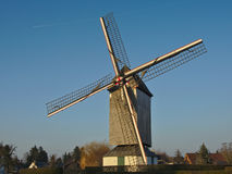 Restorated old windmill Stock Photos