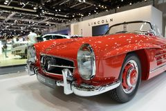Restorated por el automóvil descubierto de Brabus Mercedes-Benz 300SL Imagen de archivo