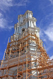 Restoration. Restoration of an Orthodox temple Royalty Free Stock Image