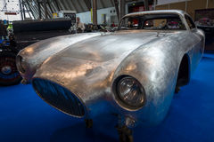 Restoration of the bodywork of the Maserati A6GCS race car. Royalty Free Stock Photography