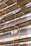 Restoration of building facade Stock Photo