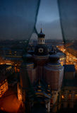 Restoration of the Cathedral of Vladimir  Icon of Our Lady in Saint- Petersburg Stock Photo
