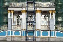 Restoration of Catherine Palace Russia Royalty Free Stock Image