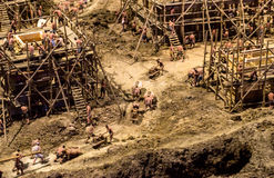 Restoration of Chinese Ancient construction site. Nanjing, china Stock Photo