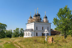 Restoration of the church in the nunnery Royalty Free Stock Photos