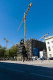 Restoration of the City Library in Berlin, Unter den Linden Royalty Free Stock Photos