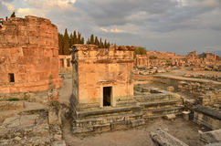 Restoration Hierapolis Turkey Stock Photos