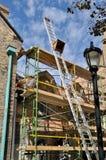 Restoration of historic building Royalty Free Stock Photo