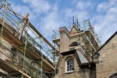 Restoration of historic building Stock Photos