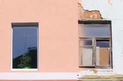 Two windows. Stock Photos