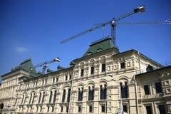 Restoration of  old building Stock Image